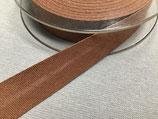 Baumwoll-Schrägband 40/20 mm Col. 902 braun