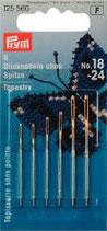 Prym Sticknadeln OHNE SPITZE silber-/goldfarbig No. 18-24