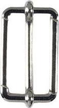 Veno Leiterschnalle silber 30 mm