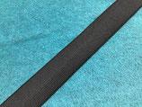 Einziehgummi 20 mm schwarz