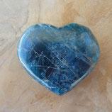 Cœur Apatite Bleue