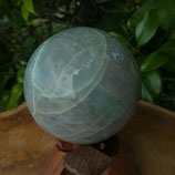 Sphère Garniérite - Pierre lune verte N° 2