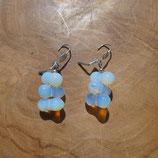 Boucles d'oreilles Opaline