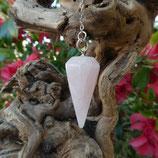 Pendule Quartz Rose Conique
