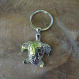 Porte clef chromé tortue marine
