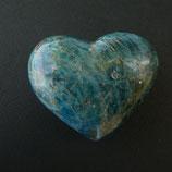 Cœur Apatite bleue N° 5
