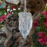 Pendule Cristal de roche brut