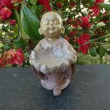 Statuette Bouddha Bougeoir Lotus