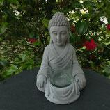 Bouddha assis photophore