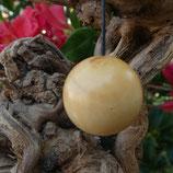 Pendule boule en bois