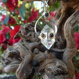 Pendule Cristal de Roche & Chakras