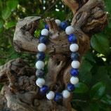 Bracelet Lapis Lazuli & Howlite
