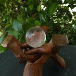 Sphère  Cristal de roche N° 2
