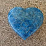 Cœur Apatite bleue N° 1