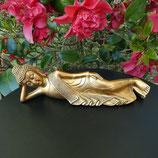 Bouddha couché doré