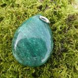 Pendentif Agate Verte