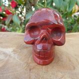 Crâne Jaspe Rouge