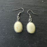 Boucles d'oreilles Opale Verte
