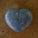 Cœur Calcite Bleue N° 1