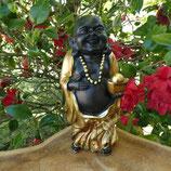 Bouddha doré ou argenté