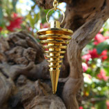 Pendule métal doré ou cuivré