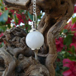 Pendule Agate blanche