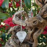 Pendule Cristal de Roche conique