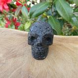 Crâne Pierre Volcanique