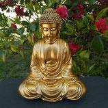 Bouddha assis doré