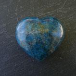 Cœur Apatite bleue N° 2