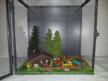 "Diorama in Kunststoffvitrine ""Agility"""