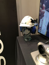 Orbit X - Hardhat mounted camera with bluetooth headset
