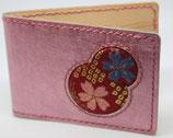 カードケース( 本革【スクラッチレザー】✖ 西陣織 )