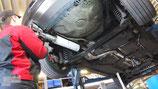 BULL-X ABGASANLAGE AB KAT FÜR VW GOLF 4 GTI  | MIT EWG BETRIEBSERLAUBNIS |