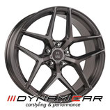 ELEGANCE WHEELS FF 550 CONCAVE LIQUID BRUSHED METAL  | 20 ZOLL | AB 426,55 EURO PRO STÜCK
