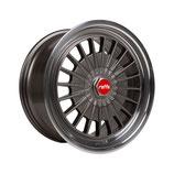 RAFFA WHEELS RS-02 GREY RED CAP  |  18 - 20 ZOLL | AB 695,00 EURO PRO SATZ | MIT TÜV GUTACHTEN