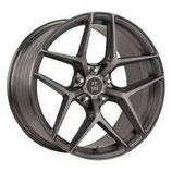 ELEGANCE WHEELS FF 550 DEEP CONCAVE LIQUID BRUSHED METAL  | 20 ZOLL | AB 464,55 EURO PRO STÜCK |