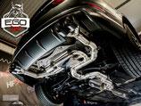 EGO-X ABGASANLAGE AB KAT FÜR AUDI S3 8V LIMO MODELLE  | MIT EWG BETRIEBSERLAUBNIS |