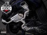 EGO-X ABGASANLAGE AB KAT FÜR VW GOLF 7 GTI FACELIFT MODELLE | MIT EWG BETRIEBSERLAUBNIS |