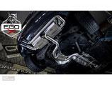 EGO-X ABGASANLAGE AB KAT FÜR VW GOLF 5 GTI MODELLE | MIT EWG BETRIEBSERLAUBNIS |