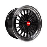 RAFFA WHEELS RS-02 BLACK POLISH |  18 - 20 ZOLL | AB 600,00 EURO PRO SATZ | MIT TÜV GUTACHTEN