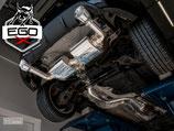 EGO-X ABGASANLAGE AB KAT FÜR FORD FOCUS ST/RS MK2 | MIT EWG BETRIEBSERLAUBNIS |
