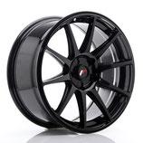 JAPAN RACING JR-11 GLOSS BLACK | 18 - 20 ZOLL | FELGE MIT TÜV GUTACHTEN | AB 230,00 EURO PRO STÜCK |