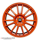 FONDMETAL 9RR SUPERLIGHT  ALUFELGEN ORANGE
