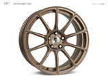 mbDESIGN MF1 FORGED MAGNESIUM | BRONZE LIGHT  | 19 ZOLL | MIT TÜV GUTACHTEN