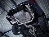 EGO-X KLAPPENABGASANLAGE AB KAT FÜR SEAT LEON CUPRA ST 300 5F OPF  ENDROHRE 145x90 CARBON INKL. EINBAU | MIT EWG BETRIEBSERLAUBNIS |