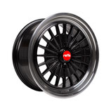 RAFFA WHEELS RS-02 BLACK POLISH |  18 - 20 ZOLL | AB 695,00 EURO PRO SATZ | MIT TÜV GUTACHTEN