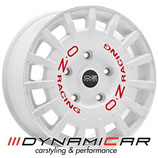 RALLY RACING VAN RACE WHITE RED LETTERING | 18 ZOLL | AB 325,00 EURO PRO STÜCK
