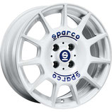 SPARCO TERRA WHITE BLUE LETTERING  | 16-17 ZOLL | AB 155,00 EURO PRO STÜCK
