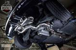 EGO-X ABGASANLAGE AB KAT FÜR VW GOLF 6 R  | MIT EWG BETRIEBSERLAUBNIS |